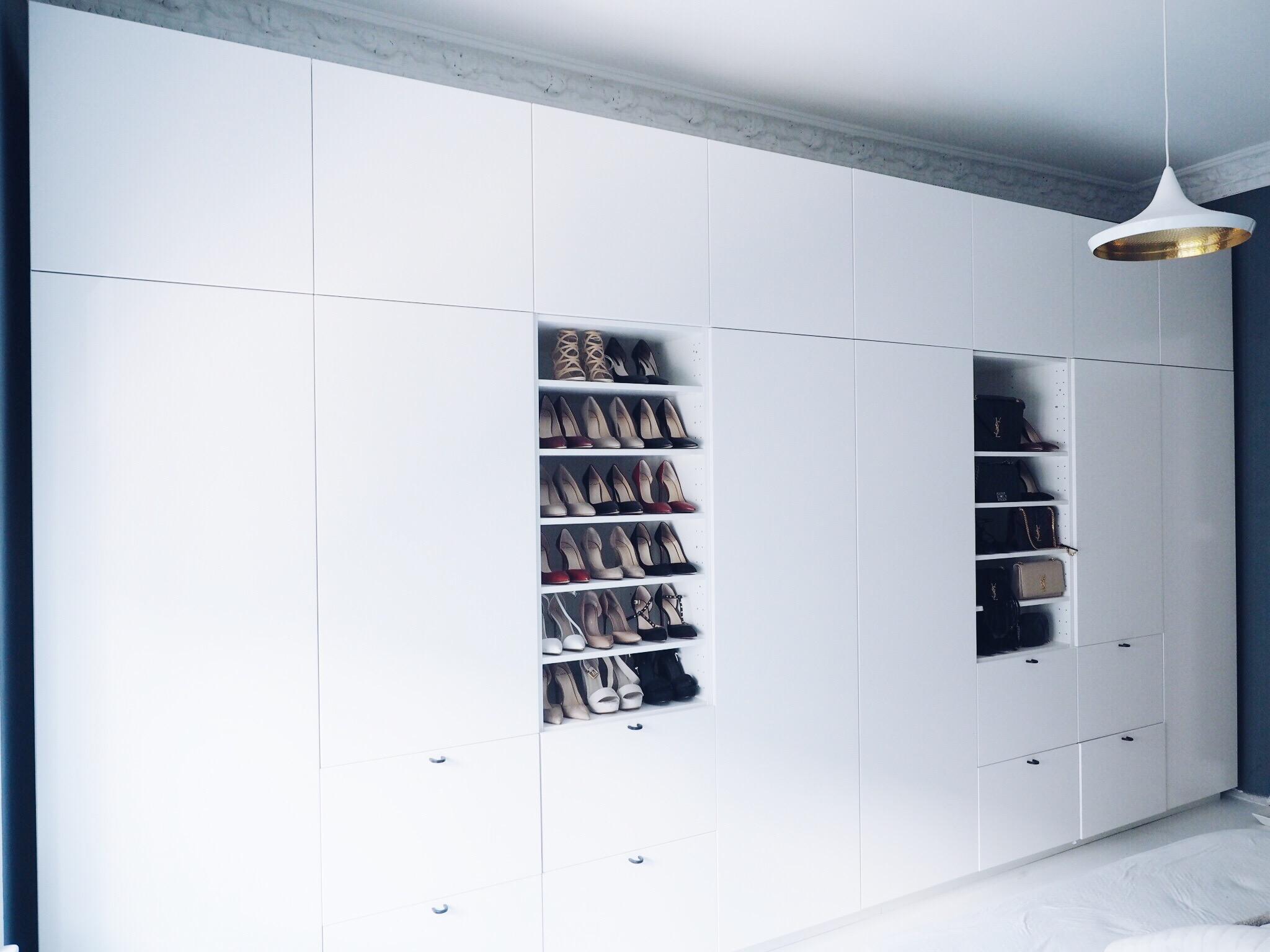 Ikea no garderobe